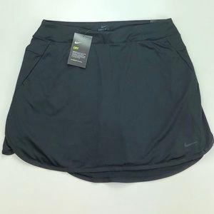 """Nike Golf Women Dri Fit 17"""" Skirt Skort AJ5242-010"""